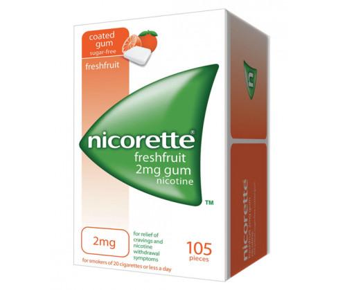 Nicorette Freshfruit Gum 2mg