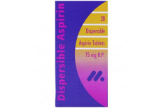 Aspirin Dispersible 75mg Tablets