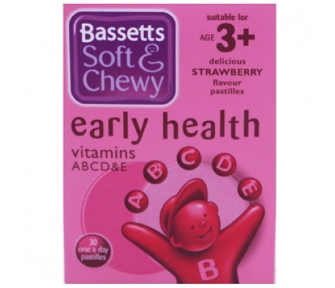 Bassetts Soft & Chewy Early Health Strawberry Flavour