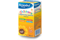 Benadryl Childrens 2+ Solution