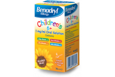 Benadryl Childrens 6+ Solution
