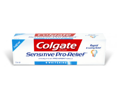 Colgate Sensitive Pro Relief + Whitening Toothpaste