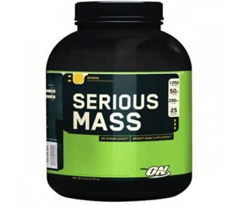 Serious Mass, Banana - 2720g