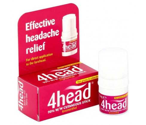 Buy 4head Headache Relief 3 6g