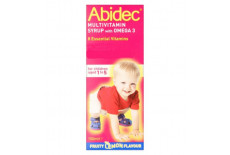 Abidec Multivitamins Syrup With Omega 3 Lemon Flavour