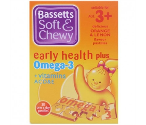 Bassetts Soft & Chewy Omega-3 Orange & Lemon Flavour