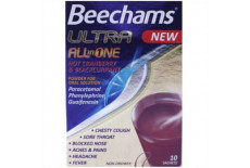 Beechams Ultra All In One Hot Cranberry & Blackcurrant