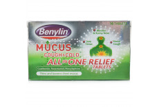 Benylin Mucus Cough Cold All In One Tablets
