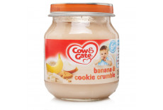 Cow & Gate Stage 1 Banana And Cookie Crumble Jar 6m+