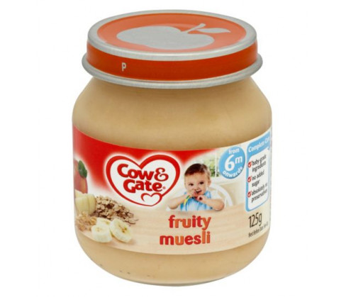 Cow & Gate Stage 1 Fruity Muesli Jar 6m+