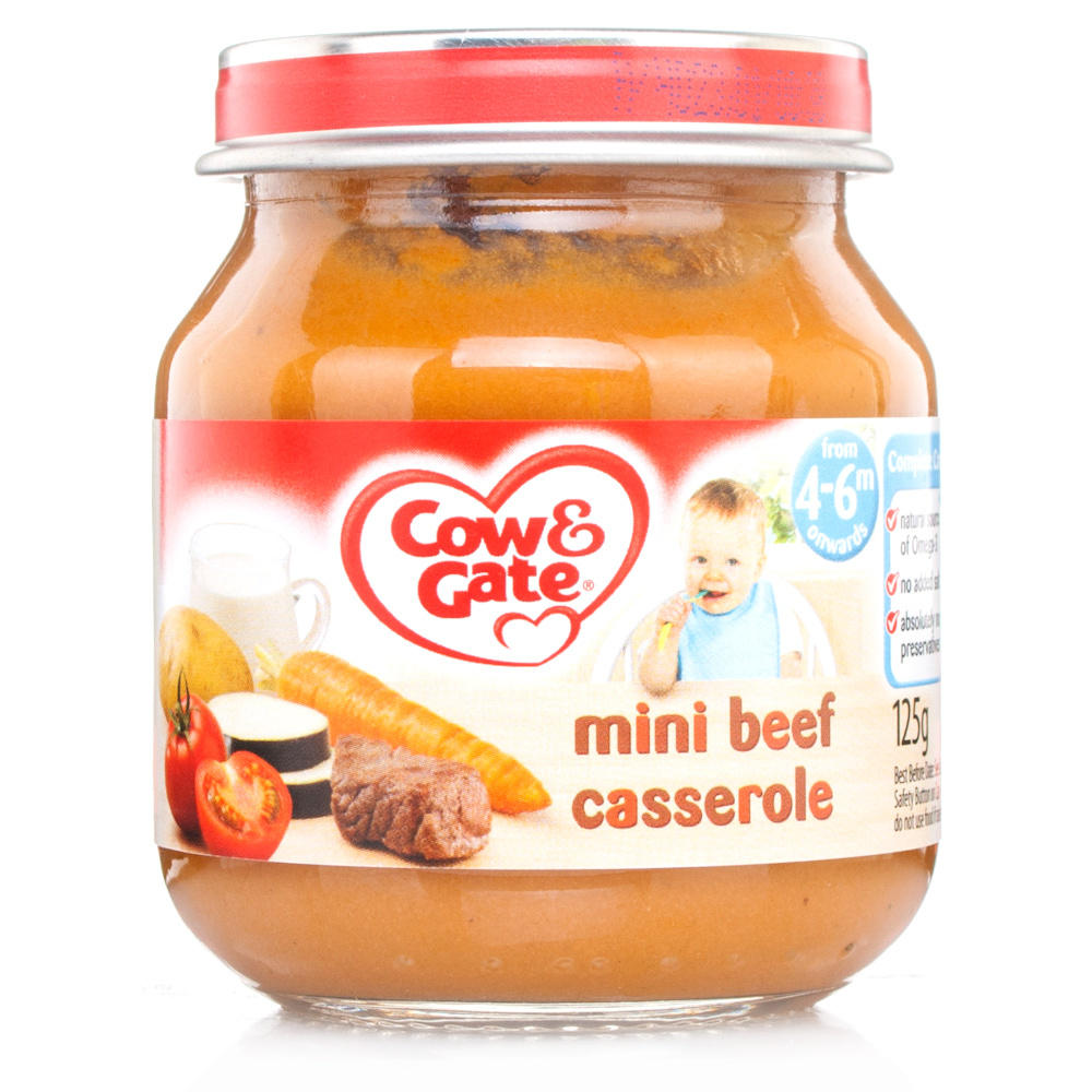 Cow And Gate Baby Food Ingredients