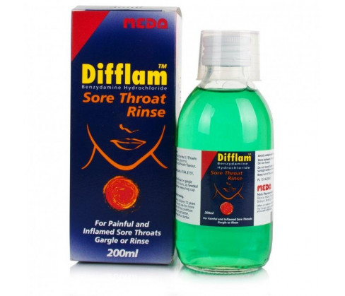 Difflam Sore Throat Rinse