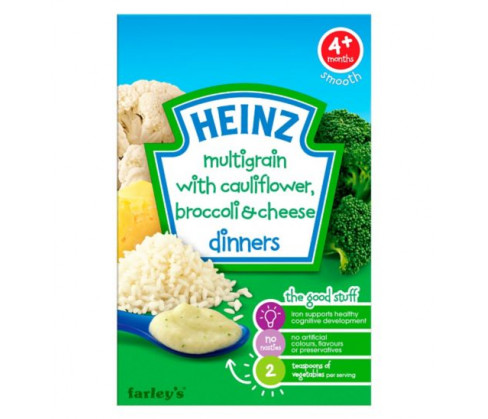 Farleys Heinz Dinners Cauliflower & Broccoli Cheese