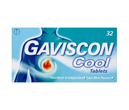 Gaviscon Cool Tablets