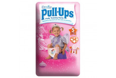 Huggies Pull Up Girls Potty Training Pants Size 5
