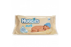 Huggies Pure Wipes Alcohol Free