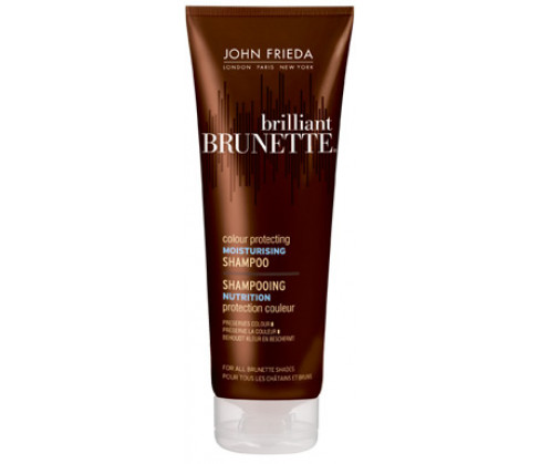 John Frieda Brilliant Brunette Colour Protecting Moisturizing Shampoo