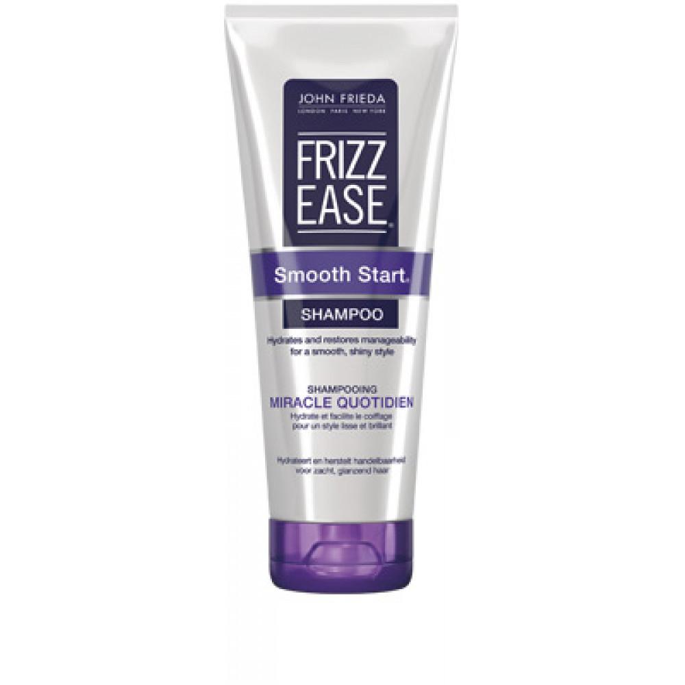 buy john frieda frizz ease smooth start shampoo 250ml. Black Bedroom Furniture Sets. Home Design Ideas
