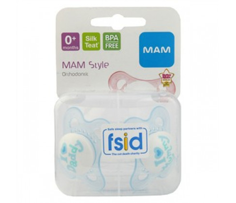 MAM Style Soother 0+M