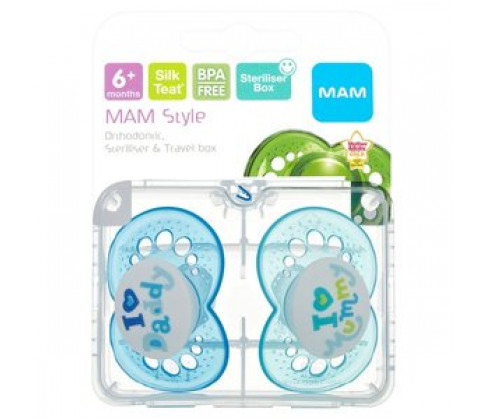 MAM Style Soother 6+M