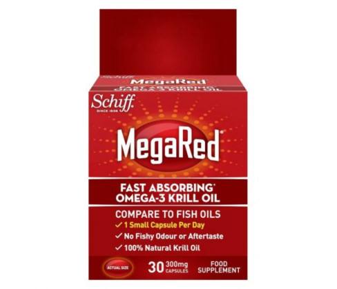 MegaRed Fast Absorbing Omega 3 Krill Oil