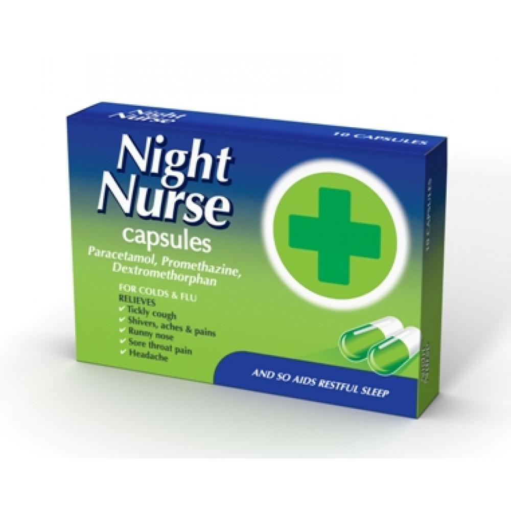 Buy Night Nurse Capsules | 10