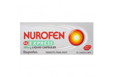 Nurofen Express 200mg 16 Liquid Capsules