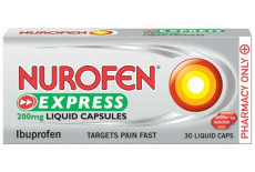 Nurofen Express 200mg 30 Liquid Capsules