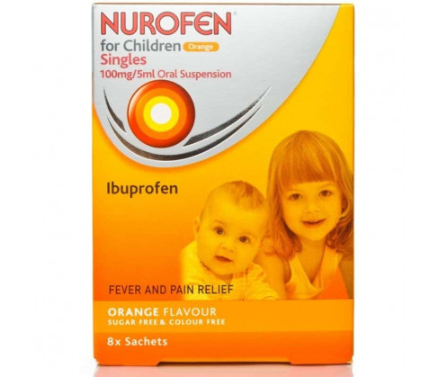 Nurofen For Child Sachets Orange