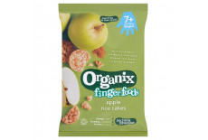 Organix Finger Foods Apple Rice Cakes - Stage 2 7+M