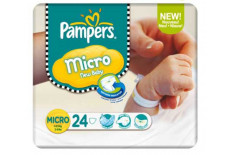 Pampers Progress Active Fit Carry Pack Unisex Size 0 (Micro)