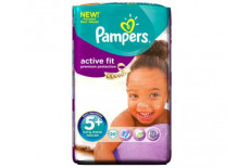 Pampers Progress Active Fit Carry Pack Unisex Size 5 + (Junior Plus)