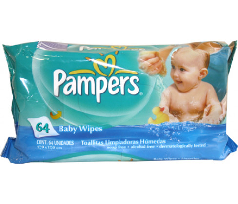 Pampers Regular Baby Wipes
