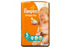 Pampers Simply Dry Carry Pack Size 5 (Junior)